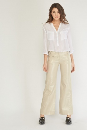 Shimmer Wide Leg Trousers
