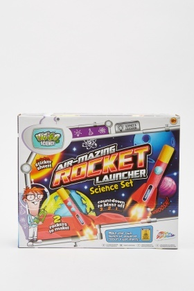 Air-Mazing Rocket Launcher Science Set