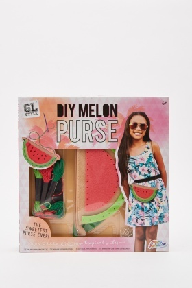 Diy Melon Purse Set