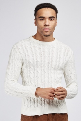 Chunky Knit Cable Jumper