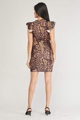 Leopard Print Bodycon Dress