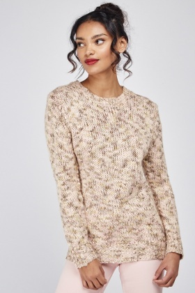 Long Sleeve Chunky Knit Jumper