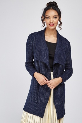 Waterfall Chunky Knit Cardigan