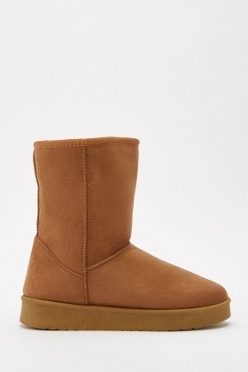 Suedette Winter Boots