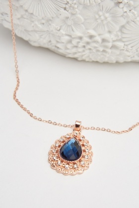 Pendant Gem Necklace