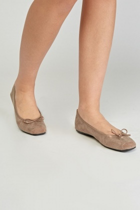 Contrasted Ballet Pumps