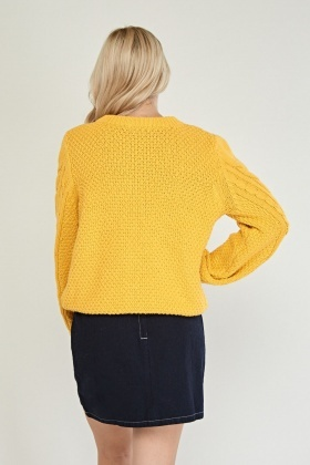 Cable Chunky Knit Jumper