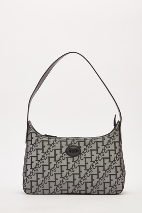Embroidered Mini Hobo Bag