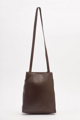 Textured Long Tote Bag