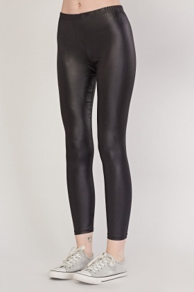 Hi-Shine Skinny Leggings