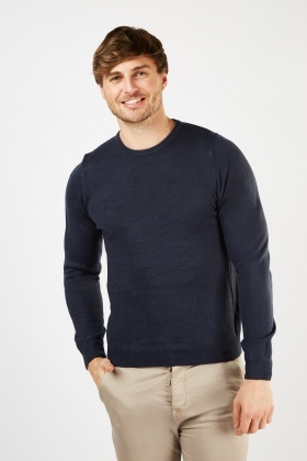 Long Sleeve Crew Neck Jumper