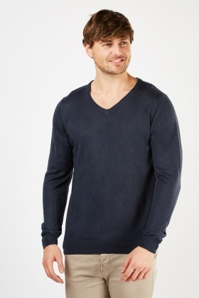 Casual Fine Knit Jumper
