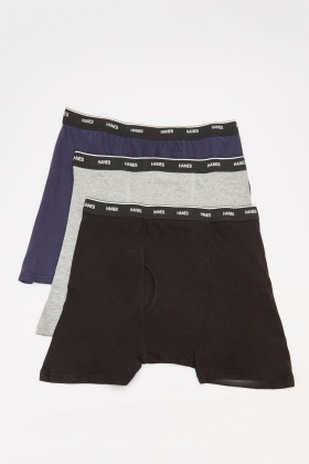 Pack Of 3 Men's Boxer Shorts