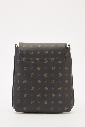Mini Vintage Print Cross-Body Bag