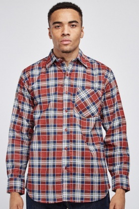 Basic Plaid Shirt