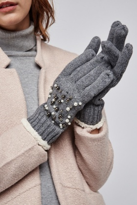 Heavily Embellished Gloves