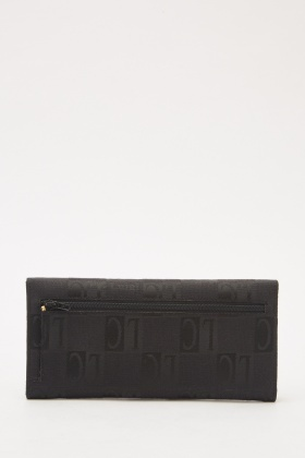 Contrasted Printed Purse
