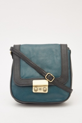 Faux Leather Mini Cross Body Bag
