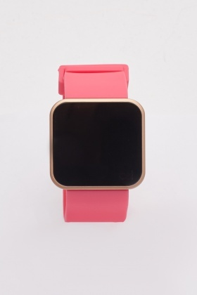 Buckle Strap Digital Watch