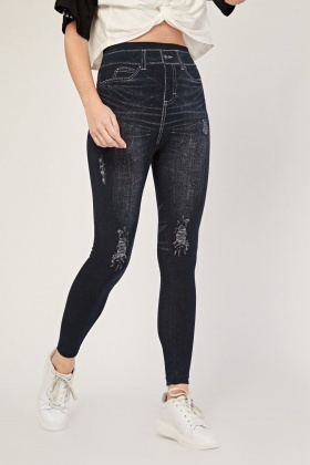 Imitation Jegging Style Leggings