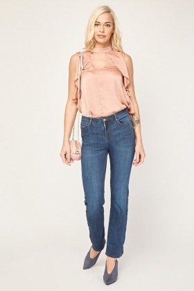 Skinny Fit Basic Jeans