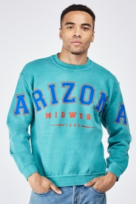 Logo Front Long Sleeve Sweatshirt