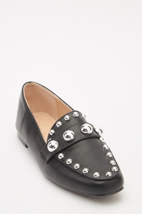Heavily Studded Loafers