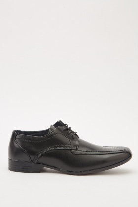Mens Faux Leather Smart Shoes