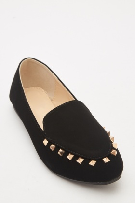 Studded Detail Ballet Pumps