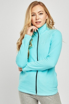 Casual Zip Up Poly-Fleece Jacket