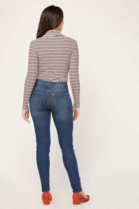 Mid Rise Skinny Fit Jeggings