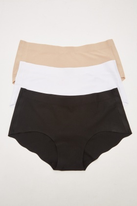Pack Of 3 Hipster Briefs