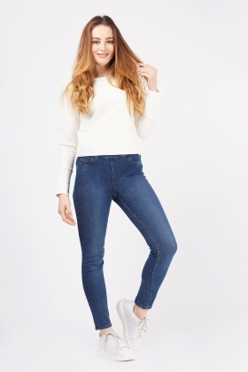 Denim Style Skinny Jeggings