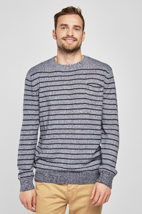 Speckled Striped T-Shirt