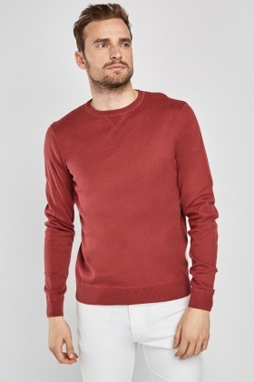 Fine Knit Casual Jumper