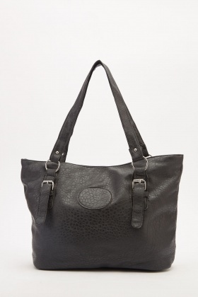 Textured Large Tote Bag
