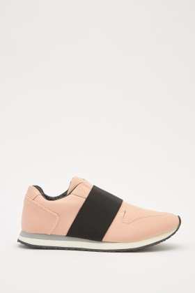 Elasticated Front Sneakers
