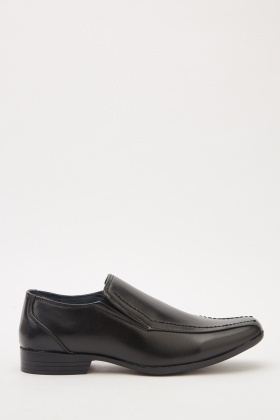 Mens Faux Leather Classic Shoes