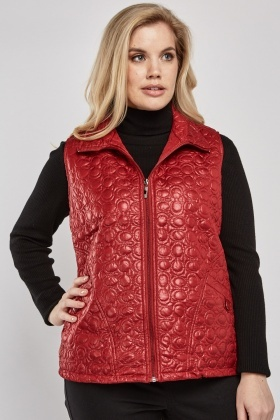 Stitched Quilted Gilet