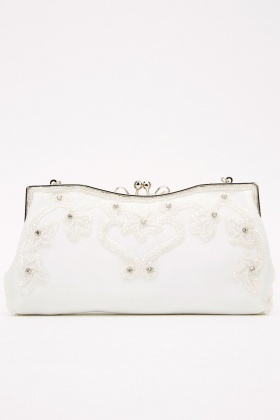 Embellished Mini Clutch Bag