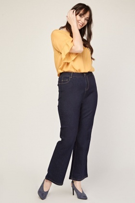 Mid Rise Classic Bootcut Jeans