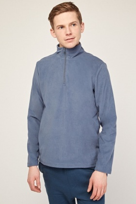 Zip Up Poly-Fleece Jumper