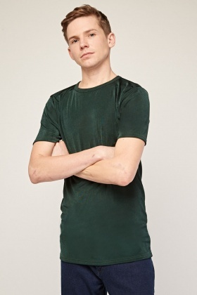 Short Sleeve Green T-Shirt