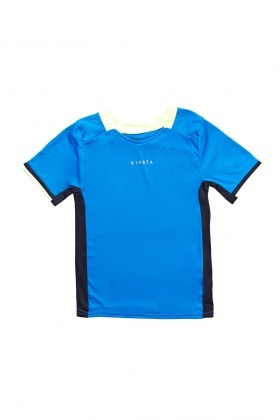 Contrasted Short Sleeve Sports Top