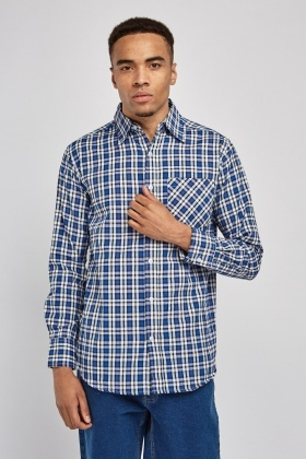Plaid Fitted Shirt
