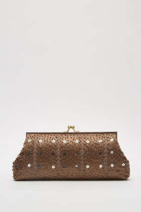 Embellished Clutch Bag