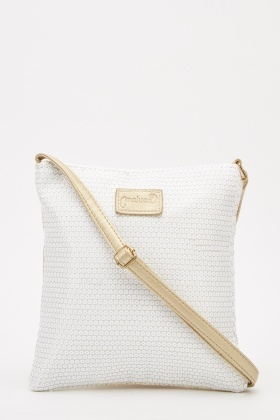 Contrasted Cross-Body Bag