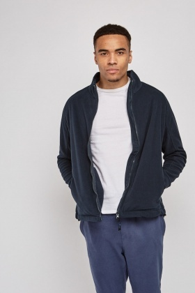Zip Up Fleece Jumper