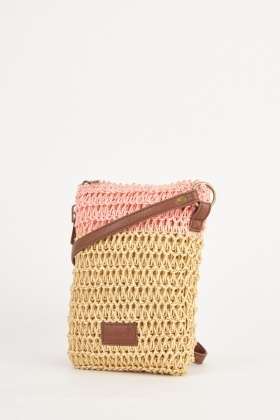 Twine Colour Block Cross Body Bag