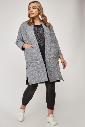 Textured Patterned Jacket
